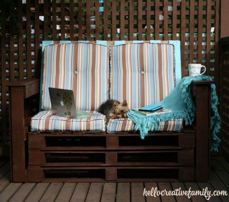 DIY Outdoor Patio Couch