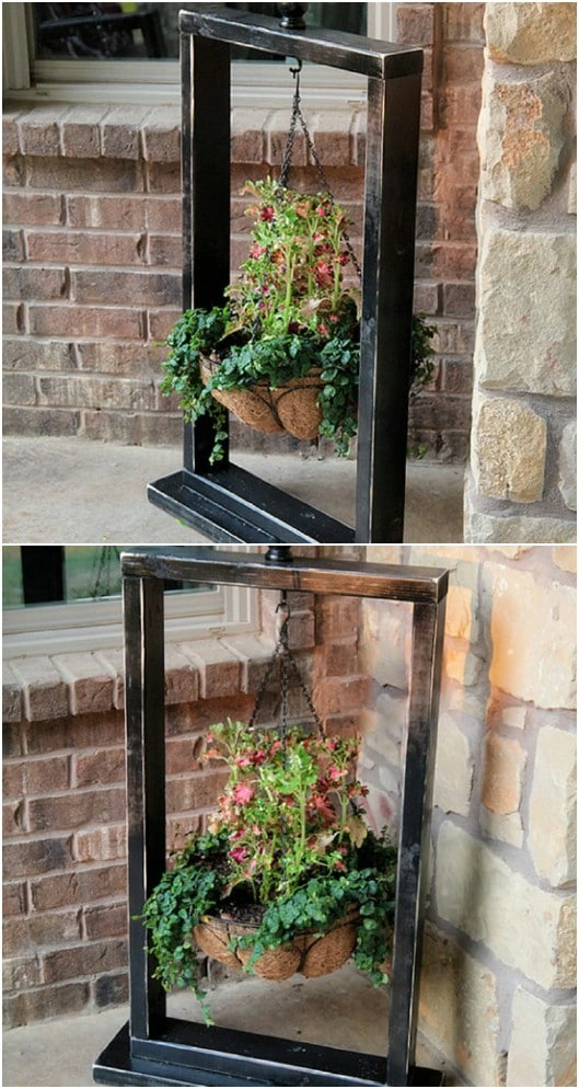DIY Outdoor Stand Plant