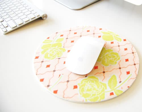 DIY Patterned Mouse Pad