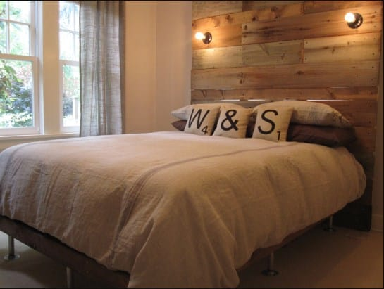DIY Simple Bed Frame with Headboard