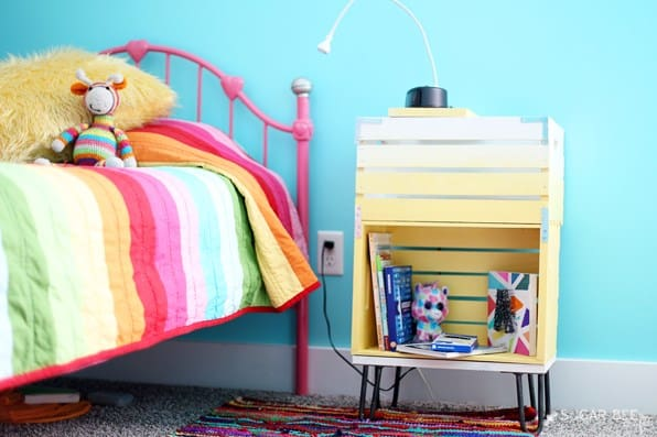 DIY Small Nightstand Ideas For Kids