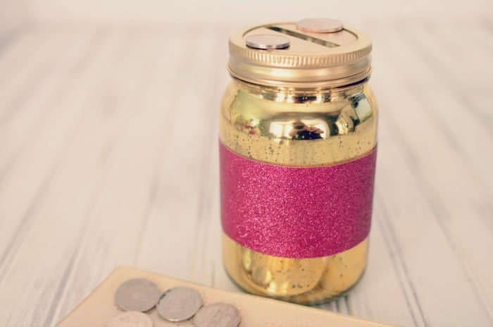 DIY Sparkling Coin Bank