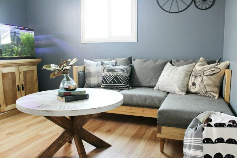 DIY Upholstered Couch