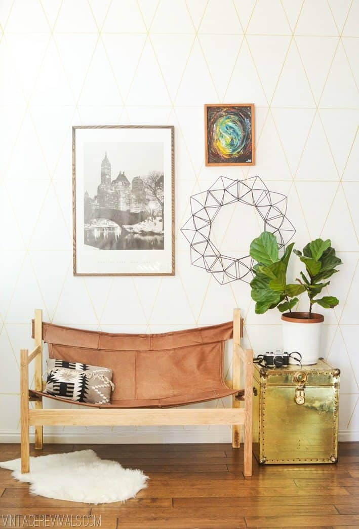 DIY Vintage Style Couch