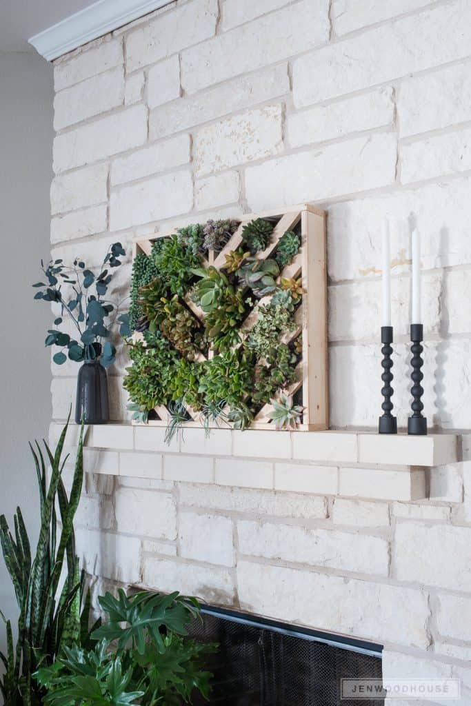 DIY Wall Succulent Planters Indoor