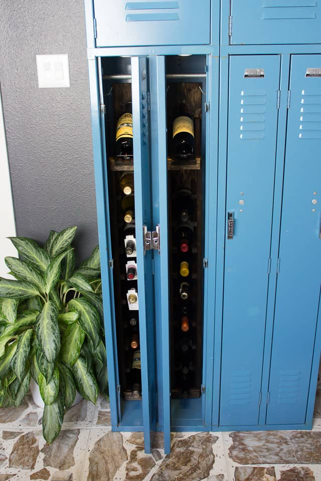 DIY Wine Locker