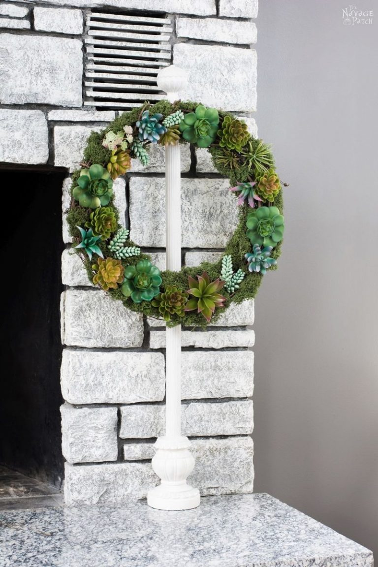 DIY Wreath Stand