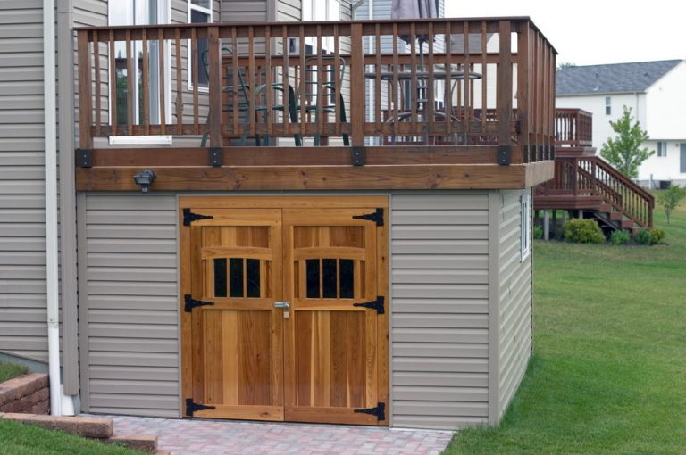 Deck Skirting Ideas And The Shed