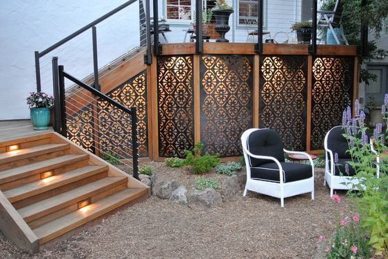 Decorative Deck Landscaping Ideas