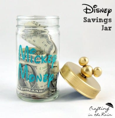 Disney Coin Jar