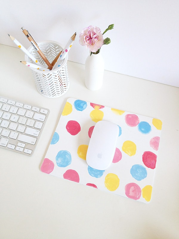 Dotted Mouse Pad