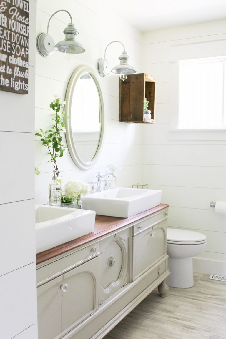 Farmhouse Charm Style: Double Wall Sconces