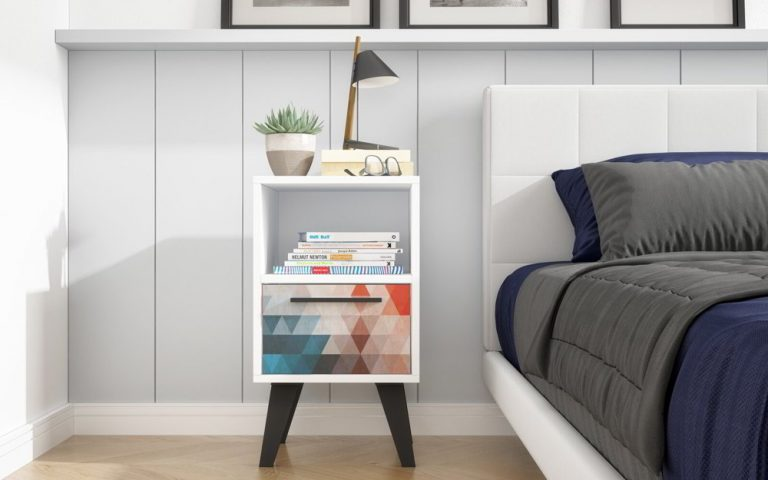 Drawer Small Nightstand Ideas