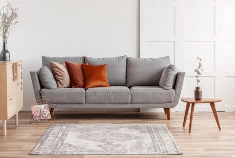 Earthy Tone Pillow Ideas For A Gray Couch