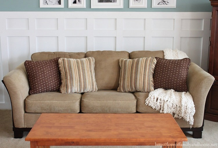 Easy DIY Couch Makeover