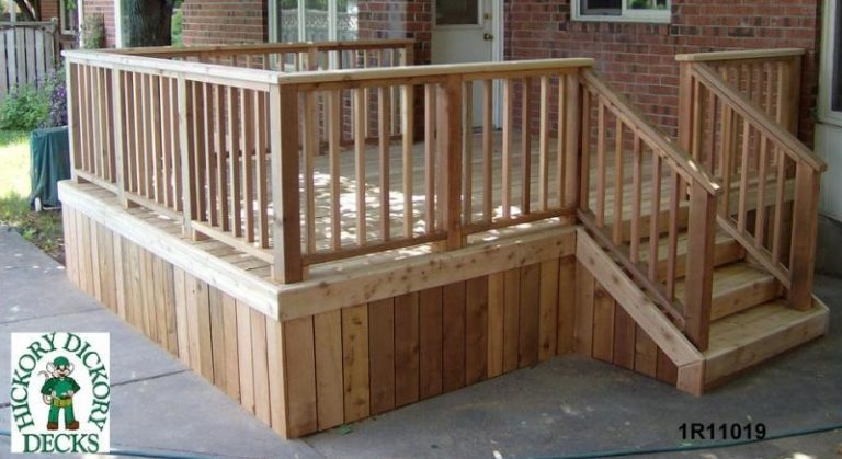 Easy Deck Skirting Ideas