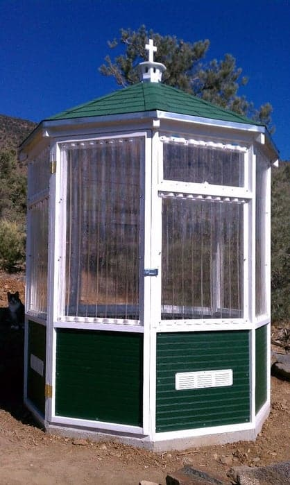 Easy Octagonal Greenhouse