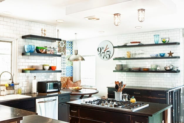 Electic Industrial Kitchen Ideas
