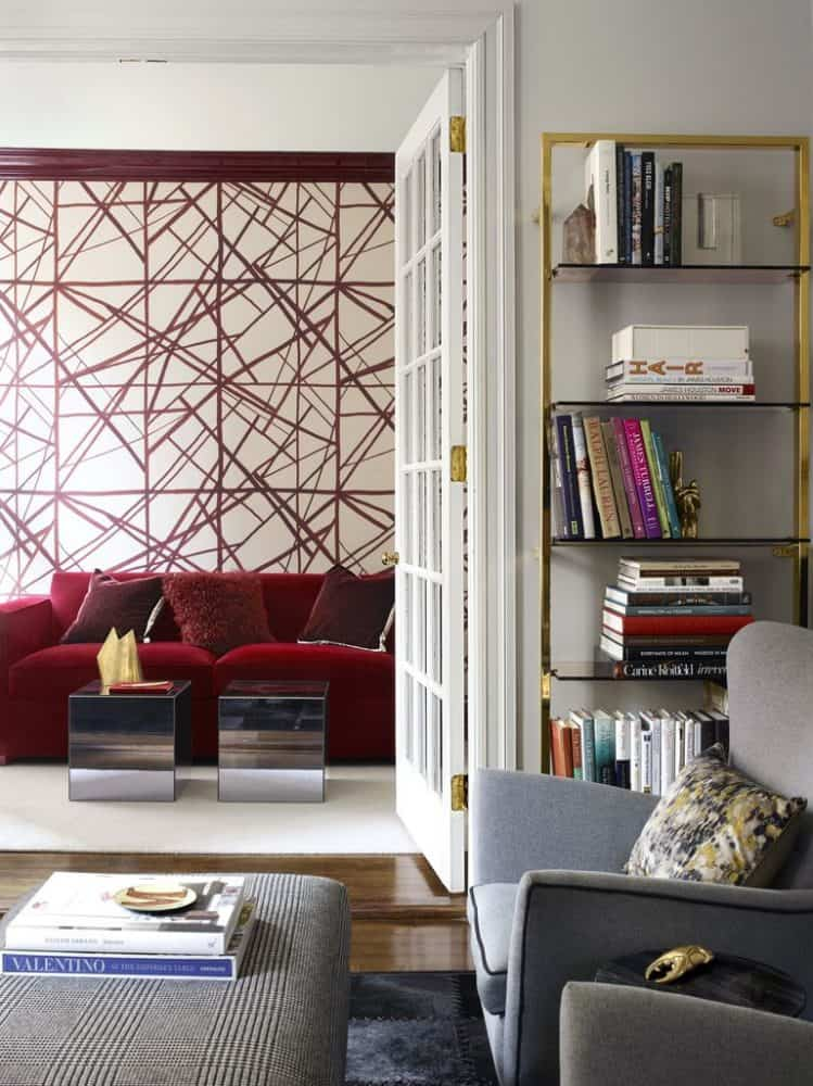 Elegant Geometric Wall Paint