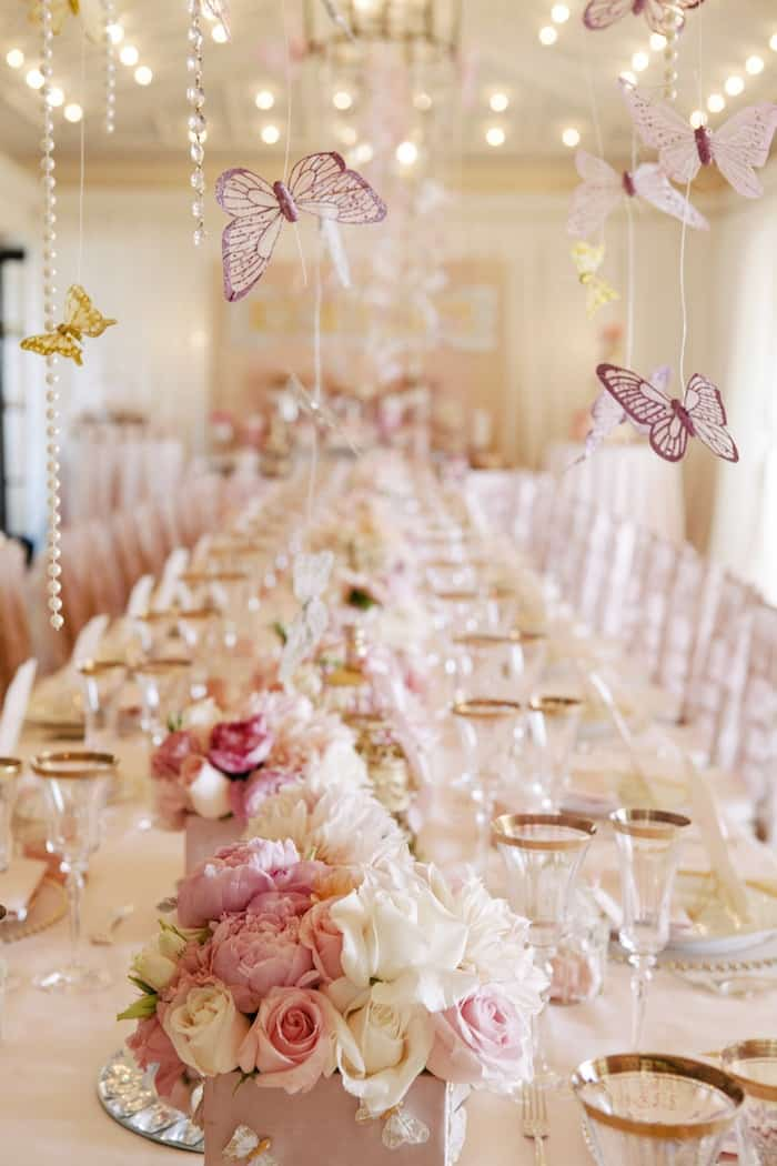 Elegant Hanging Butterfly Decorations