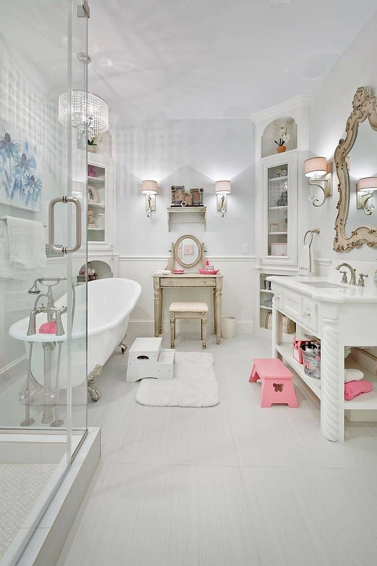 Elegant Shabby Chic Bathroom