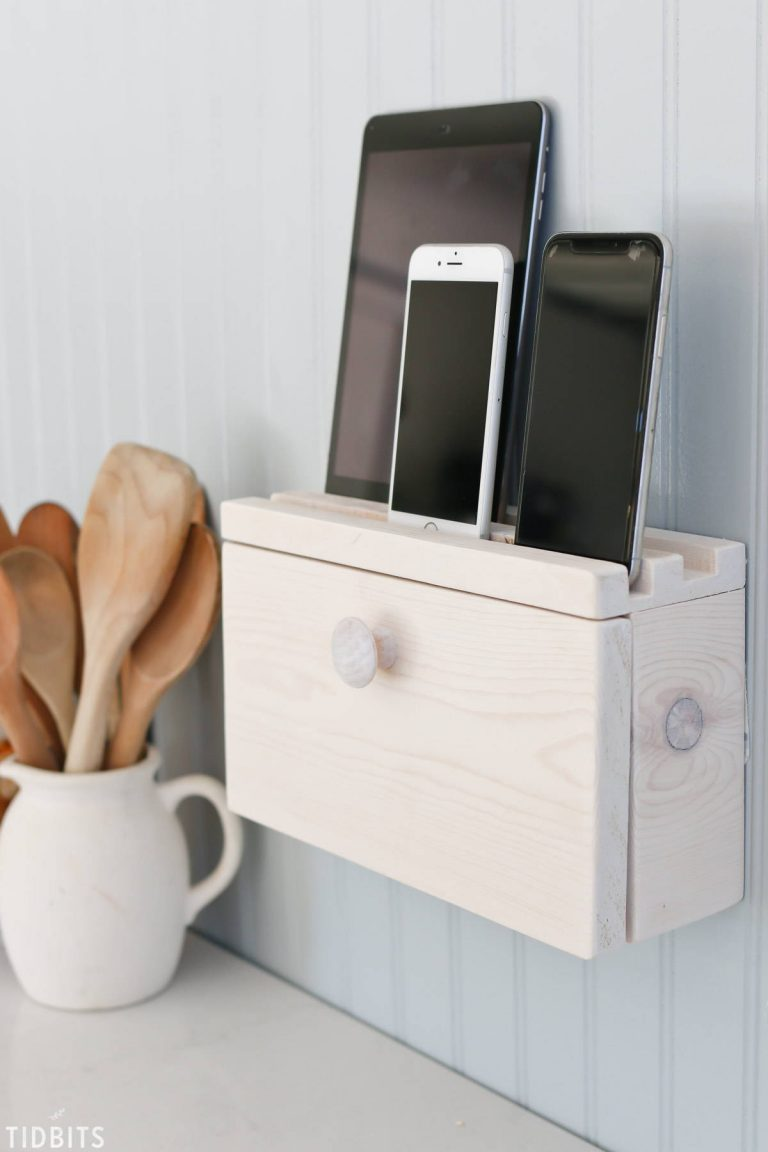 DIY Family Charging Station or Dock