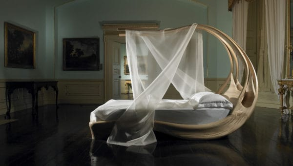 Fancy Canopy Bed