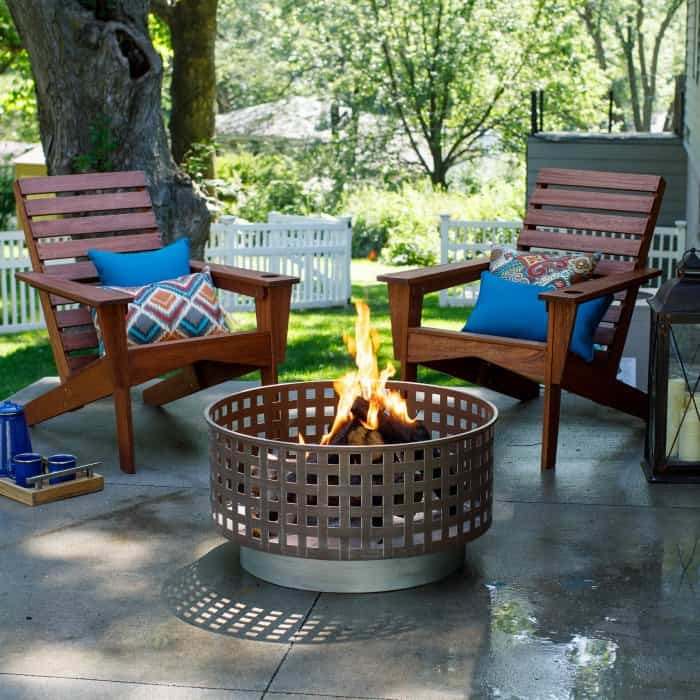 Fire Pit Steel Ideas