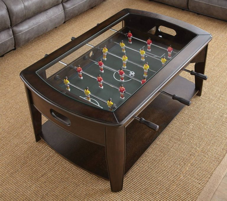 Cool Foosball Coffee Table