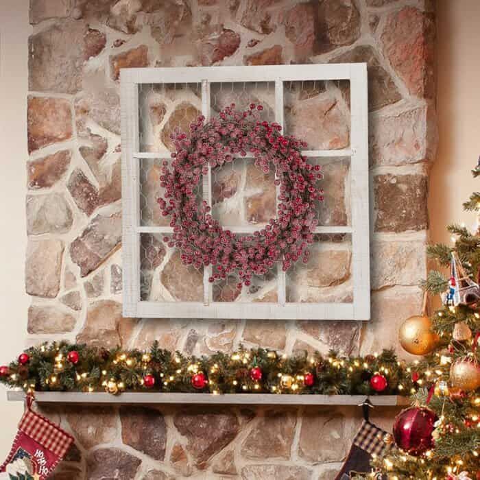 Frame Wreath Stand