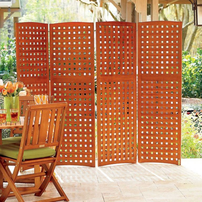 Free Standing Outdoor Privacy Screens