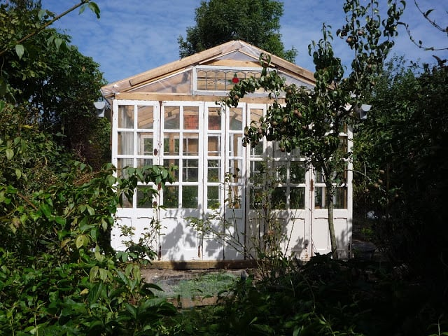 French Style Windows Greenhouse