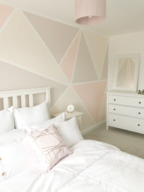 Geometric Wall Paint For Kids