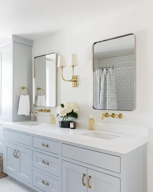 Glam and Simple Bathroom