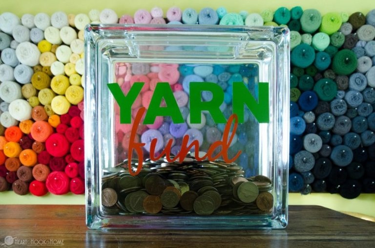 Glass Block Coin Bank