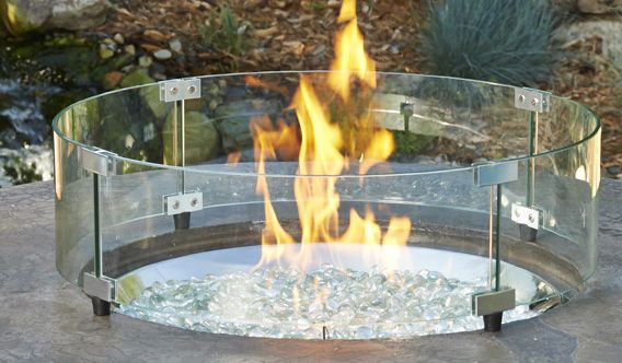 Glass Fire Pit Ideas