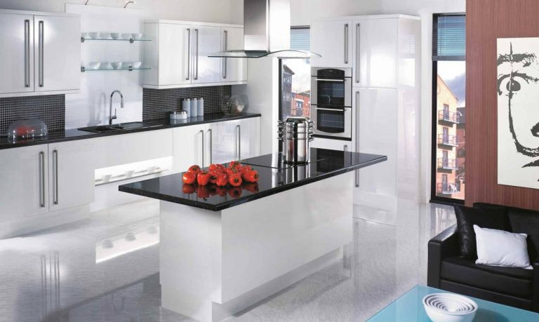 Gloss White Kitchen Designs