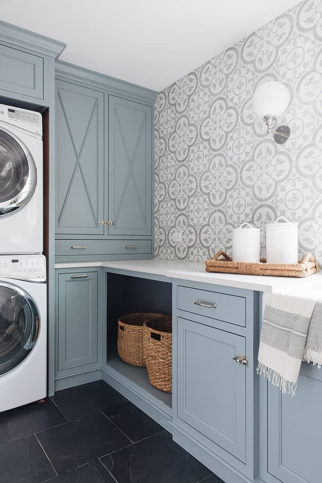 Gray Laundry Room Paint Colors