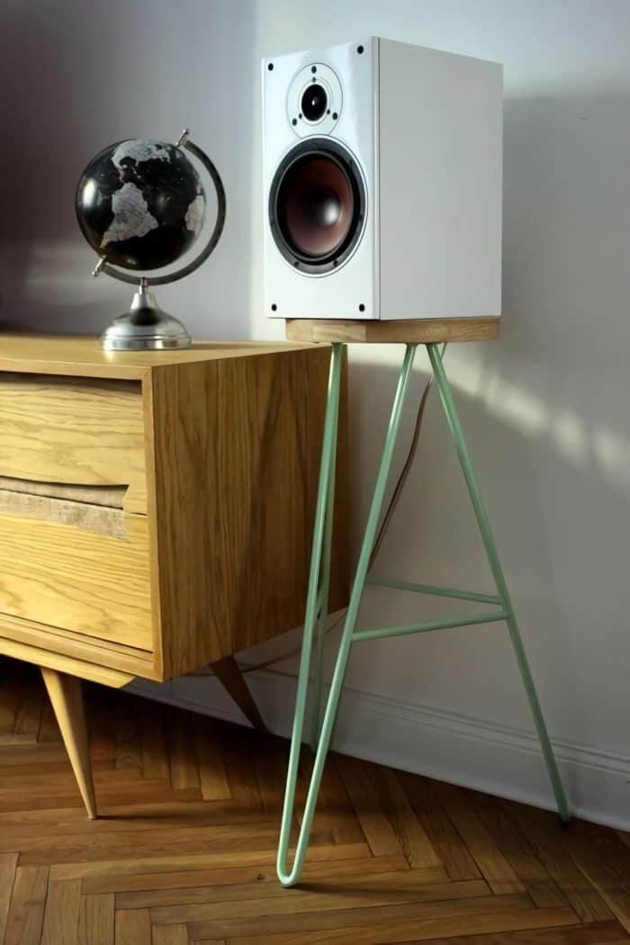 Hair Pin Legs Speaker Stand