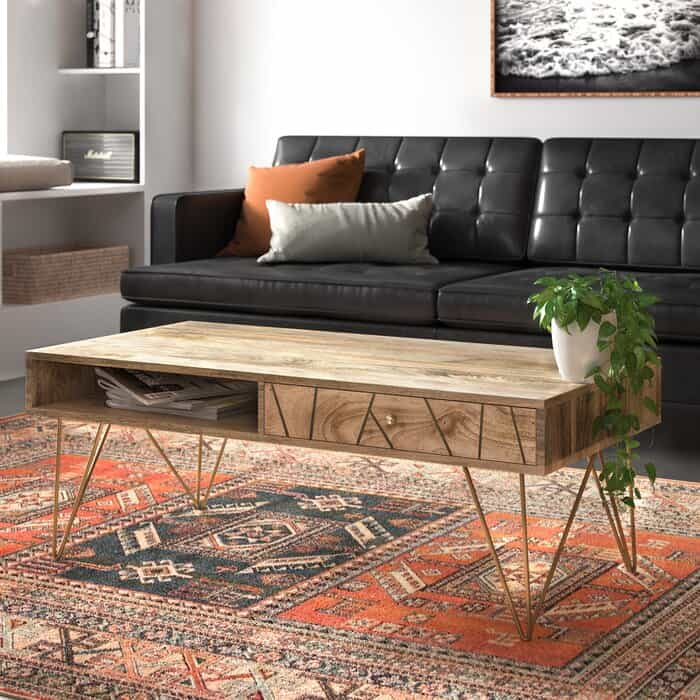 Hairpin Legs Cool Coffee Table
