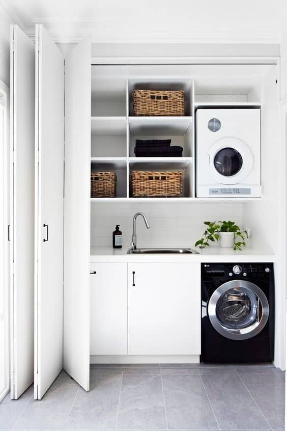 Hidden Laundry Room Ideas