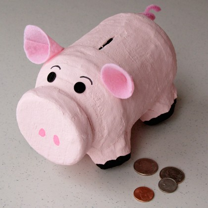 Handy Piggy Bank