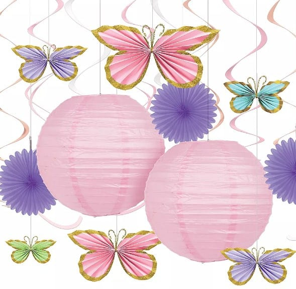 Hanging Butterfly Decorations