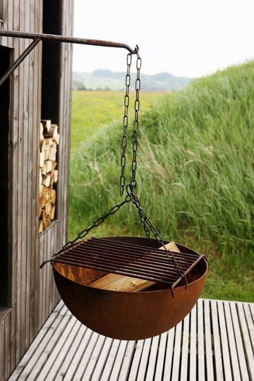 Hanging Fire Pit Ideas