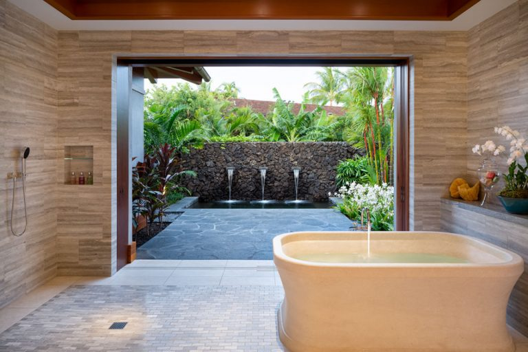 Hawaiian Bathroom Idea