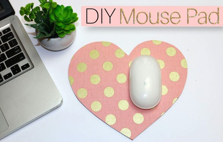 Heart-shaped Mouse Pad