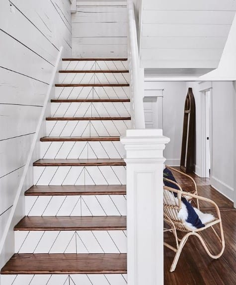 37 Smart Painted Stairs Ideas To Uplifting Your Inspiration