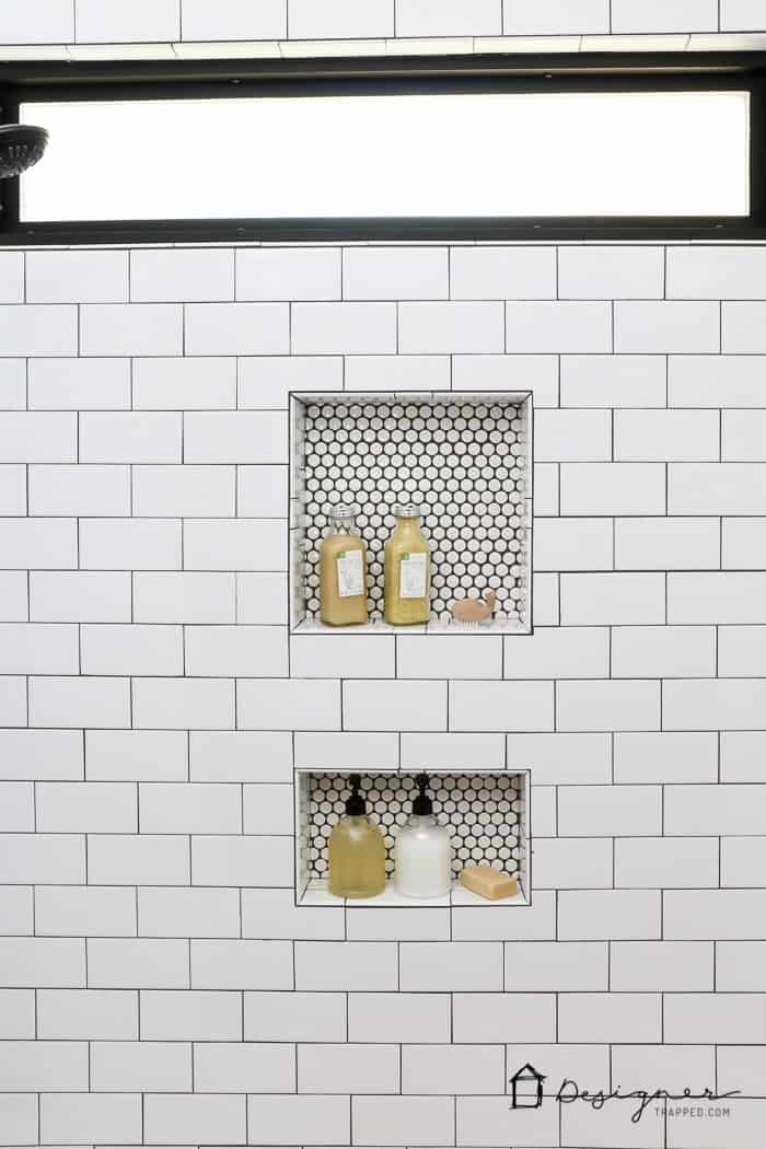Hidden Penny Tile Wall
