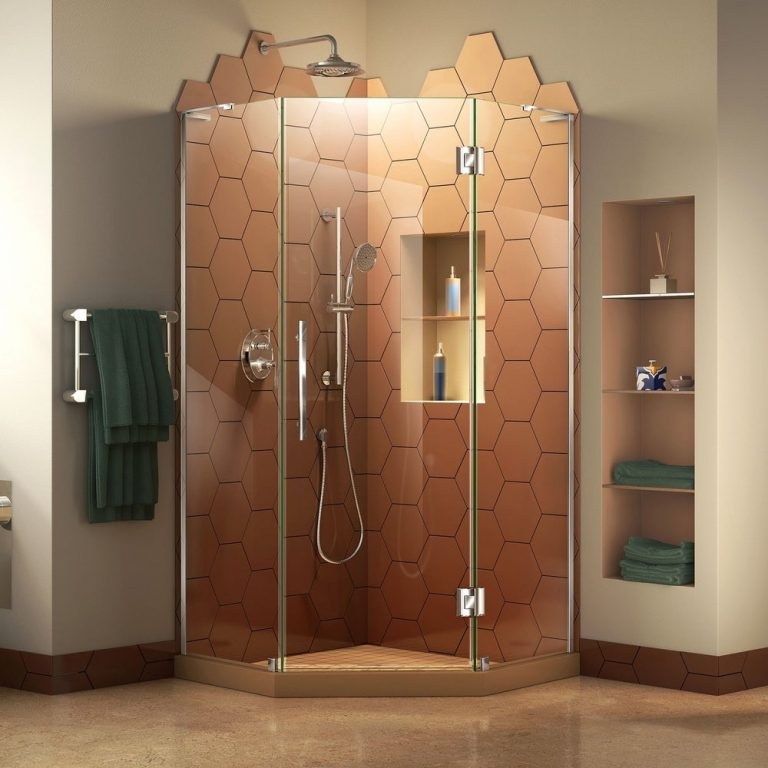 Honeycomb Modern Shower