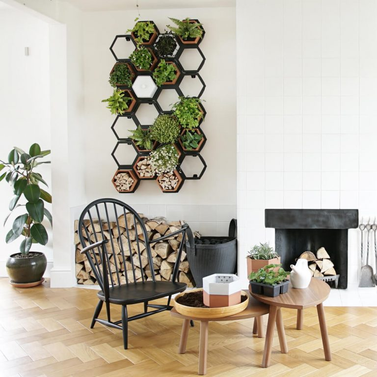 Honeycomb Wall Planters Indoor